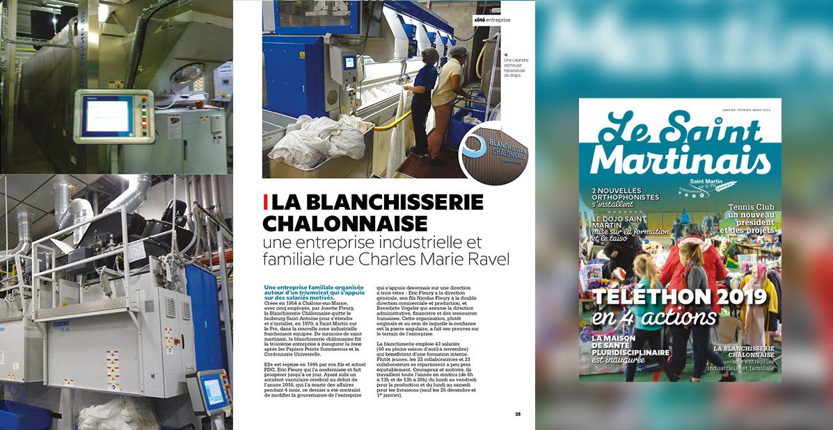 La Blanchisserie Chalonnaise-SaintMartinais