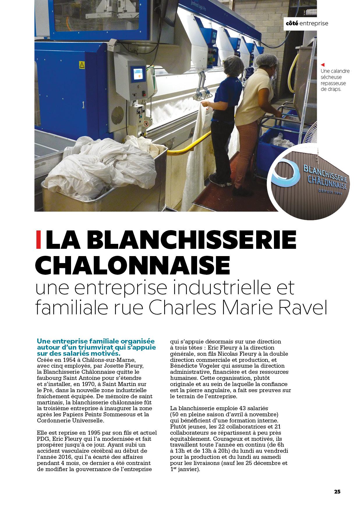Blanchisserie Chalonnaise