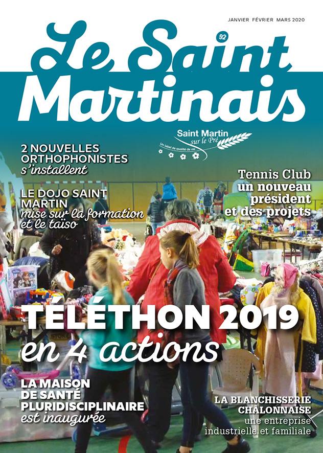 couverture, magazine Saint Martinais 92