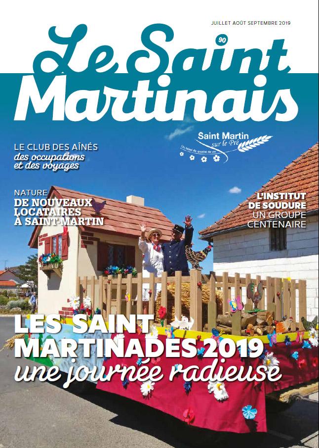 Couverture Saint Martinais 90