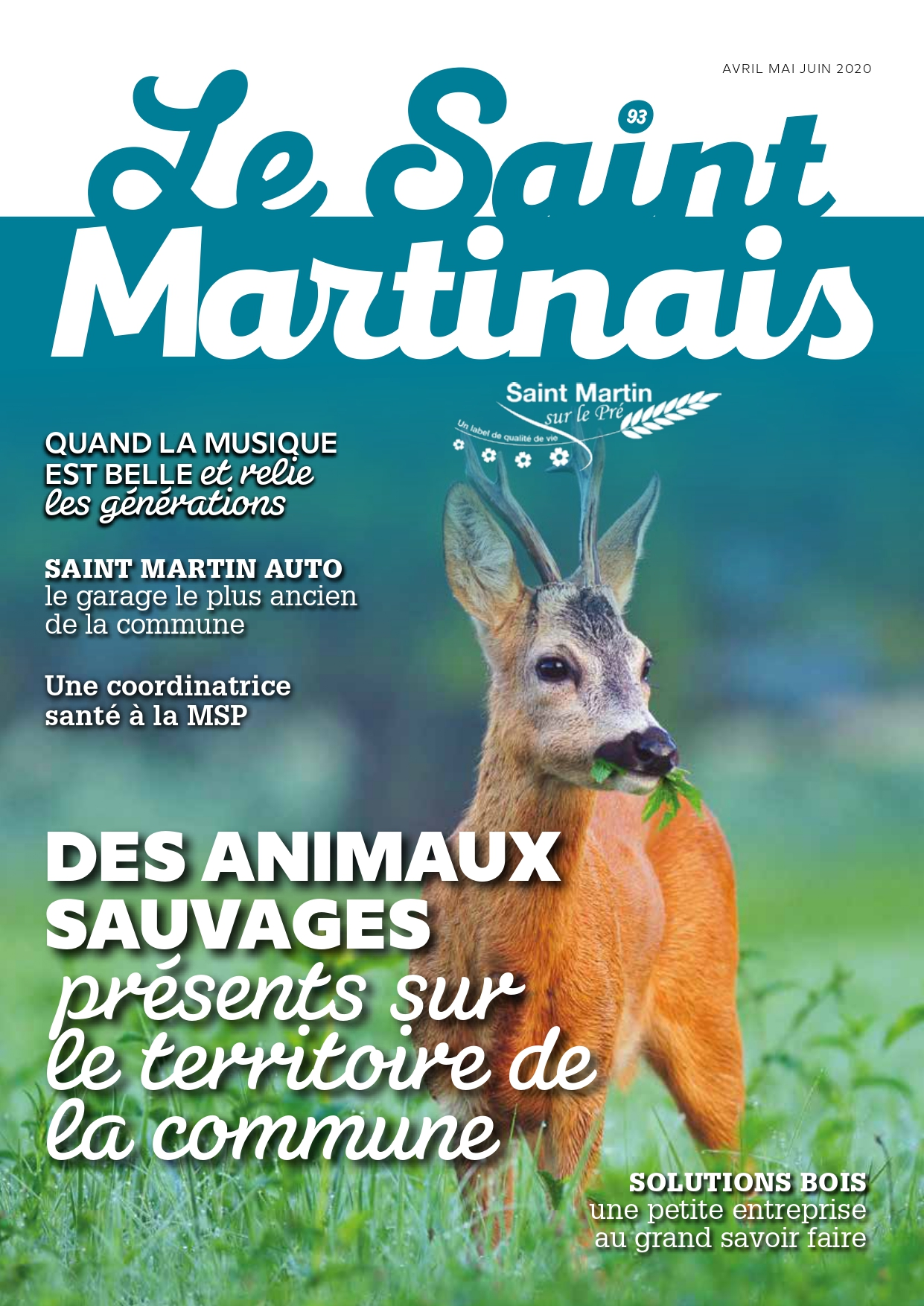Couverture Saint Martinais 93