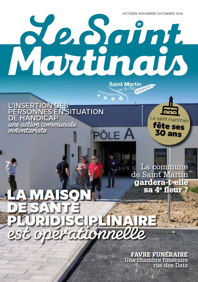 Couverture Saint Martinais