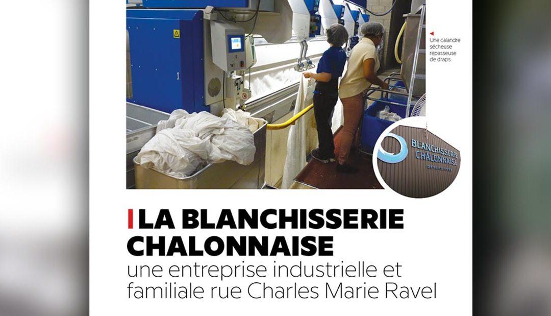 La Blanchisserie Chalonnaise, une entreprise industrielle et familiale
