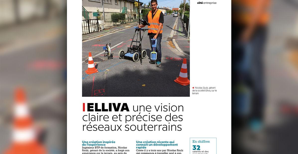 """Extrait de l'article """"Elliva, une vision claire et précise des réseaux souterrains"""""""
