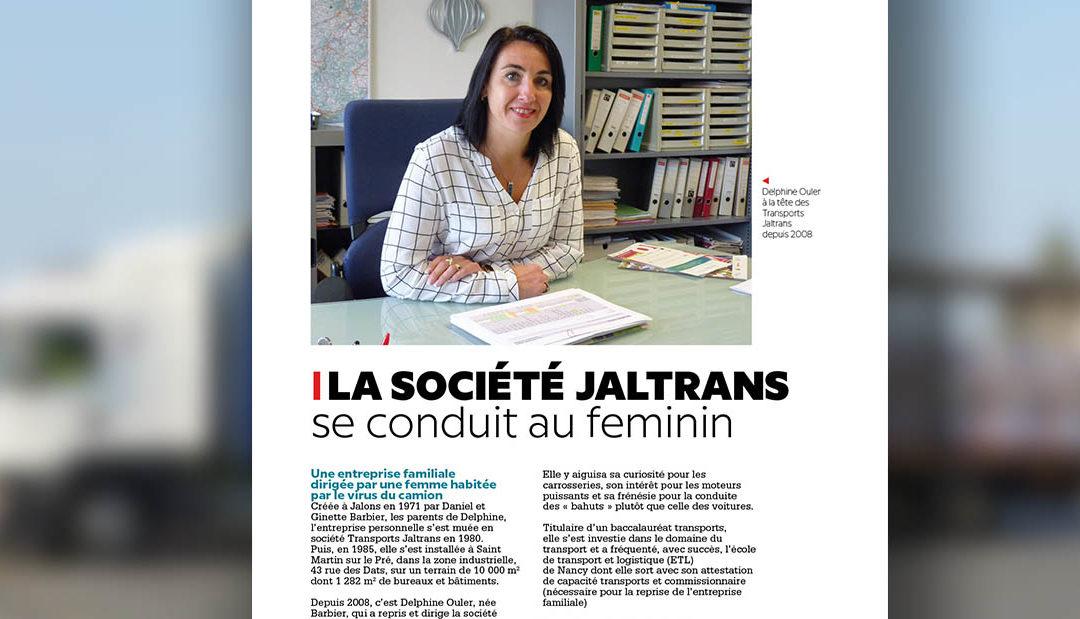La société Jaltrans se conduit au féminin