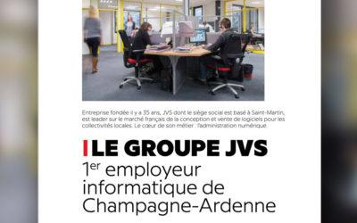 Le groupe JVS, premier employeur informatique de Champagne-Ardenne